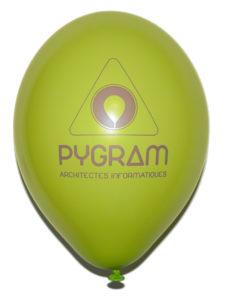 ballon-de-baudruche-latex-vert-pomme-publicitaire-30cm-pygram