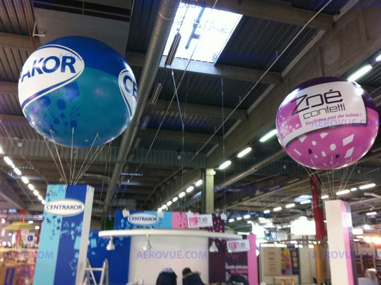 ballon publicitaire 2m centrakor - Zoe