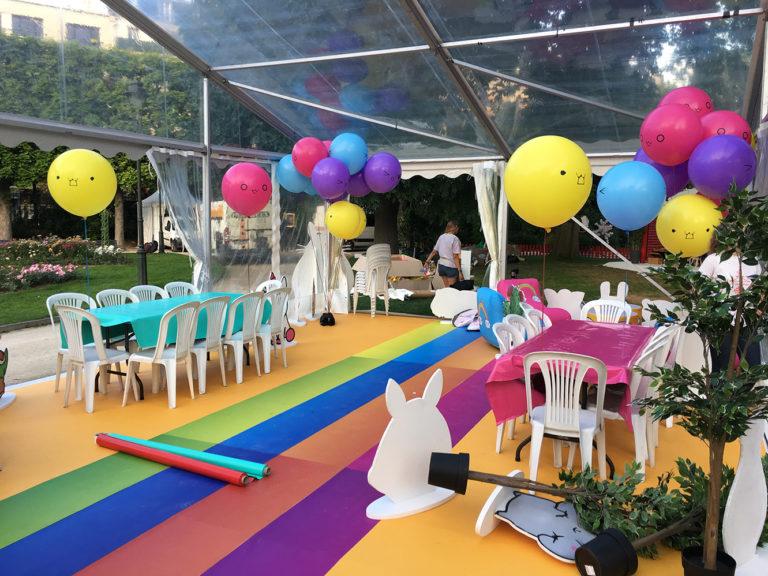 ballon de baudruche 60cm personnalise decoration fete levallois 3